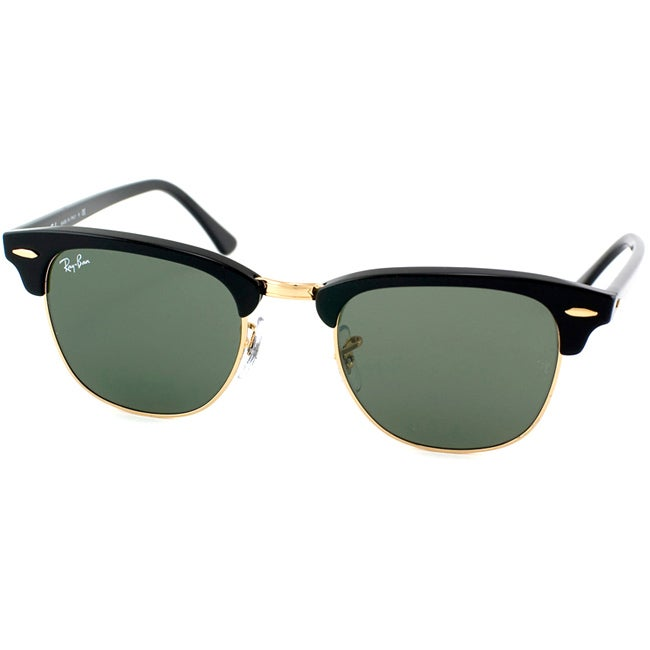 Clothing Shoes Ray Ban Unisex Clubmaster W0365 Round Sunglasses 6851767 Product Ray Ban Factory Outlet