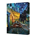 Vincent Van Gogh 'The Caf Terrace on the Place du Fourm, Arles' 8 x 12 Gallery Wrapped Canvas