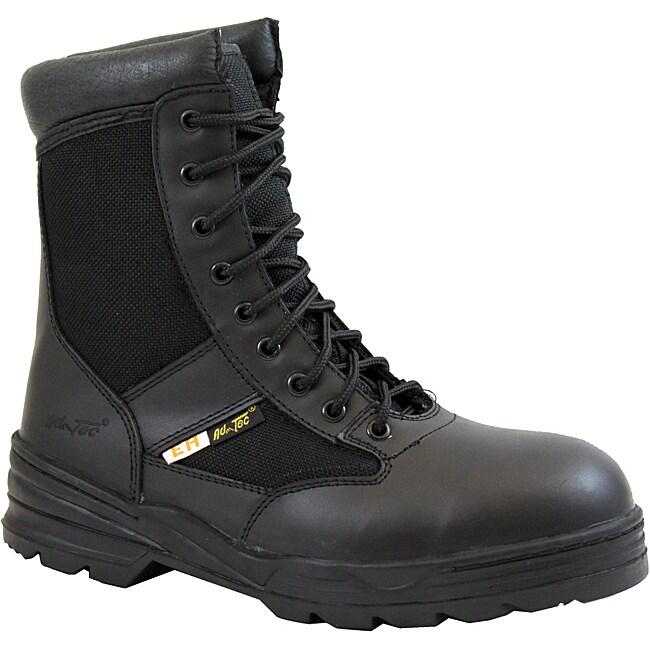 AdTec Men's 1966 9-Inch Black Swat Boots