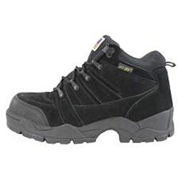 AdTec Men's Wide Width 1835 6 inch Steel Toe Hiker Boots Black