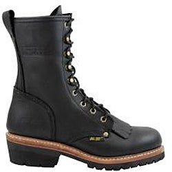 AdTec Men's 1964 10 inch Fireman Logger Boots (Wide Sizes)
