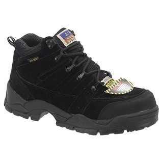 AdTec Men's 1835 6 inch Steel Toe Hiker Boots Black