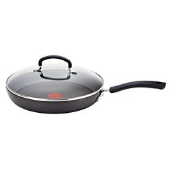 T-fal Ultimate Hard Anodized 10-inch Covered Deep Saute Pan