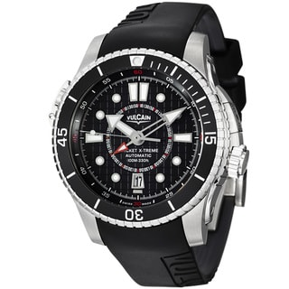 Vulcain Men's 'Cricket X-TREME' Black Dial Titanium Automatic Watch