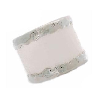 NEXTE Jewelry Metal Lucite Cuff Bracelet