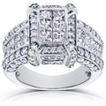 14k Gold 3ct TDW Diamond Ring (H-I, I1-I2)