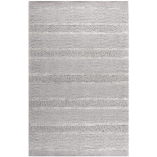 Safavieh Handmade Metro Grey New Zealand Wool Rug (8'3 x 11')