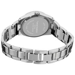 Vernier Women's Fashion Crystal Stone Bezel Bracelet Quartz Watch