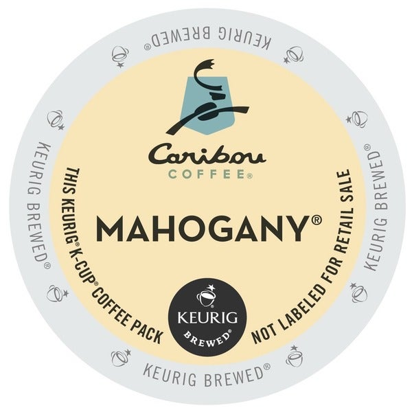 Caribou Coffee Mahogany K-Cups (48 count)