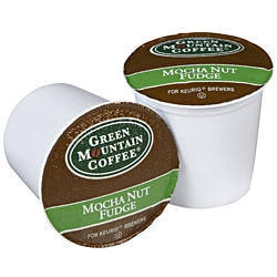Green Mountain Coffee Mocha Nut Fudge 96 K-Cups for Keurig Brewers