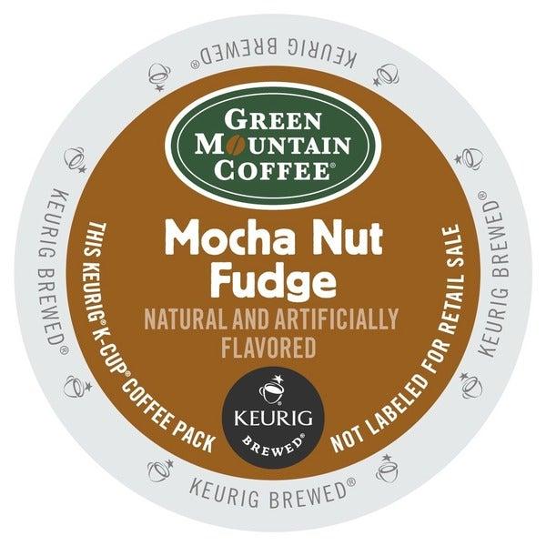 Green Mountain Coffee Mocha Nut Fudge K-Cups for Keurig Brewers