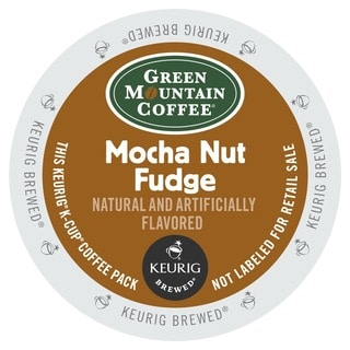 Green Mountain Coffee Mocha Nut Fudge K-Cups for Keurig Brewers (48 count)