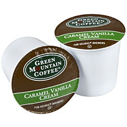 Green Mountain Coffee Caramel Vanilla Cream 48 K-Cups for Keurig Brewers