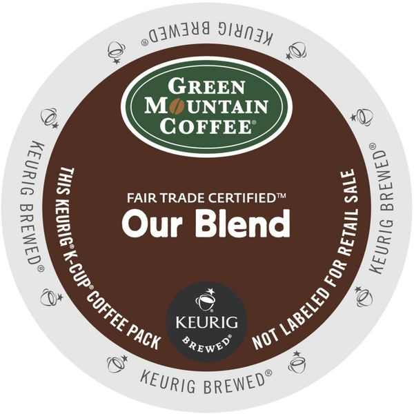Green Mountain Coffee Our Blend K-Cups for Keurig Brewers