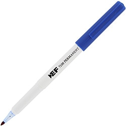 Eberhard Faber Fine Point Blue Permanent Markers (Pack of 12)