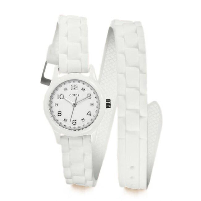 GUESS Women's Diminutive Color Pop Double Wrap Watch