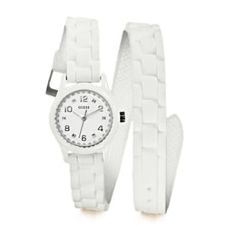 GUESS Women's Diminutive Color Pop Double Wrap Watch