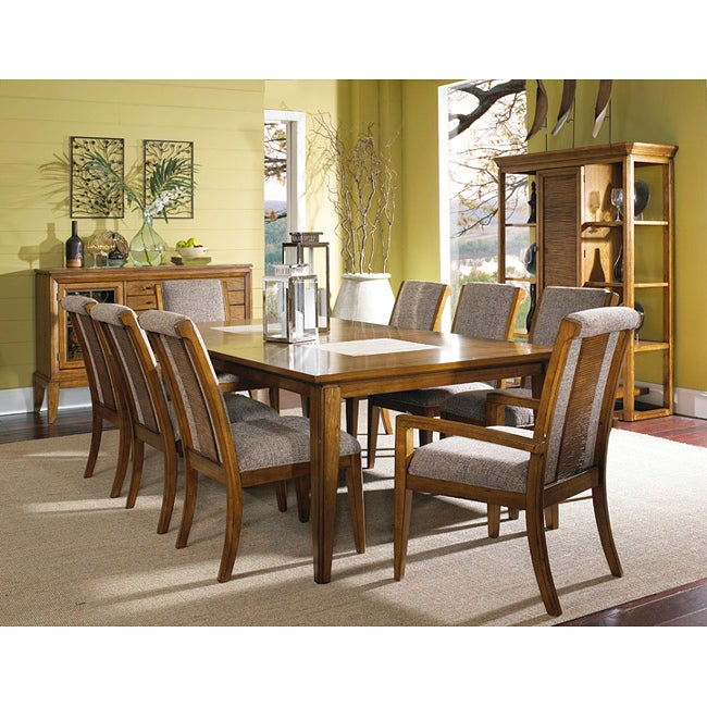 Toluca Lake 5-piece Dining Set with Upholstered Chairs