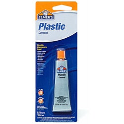 Elmer's Plastic Cement (Pack of 6)
