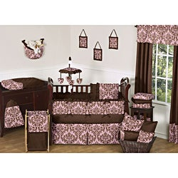 Sweet Jojo Designs Nicole 9-piece Crib Bedding Set