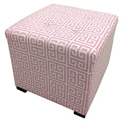 Sole Designs Pinky Chain Square Ottoman