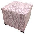 Sole Designs Pinky Chain Square Ottoman