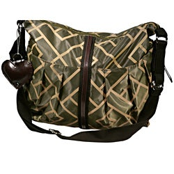 Hugamonkey Olive Green Diaper Bag