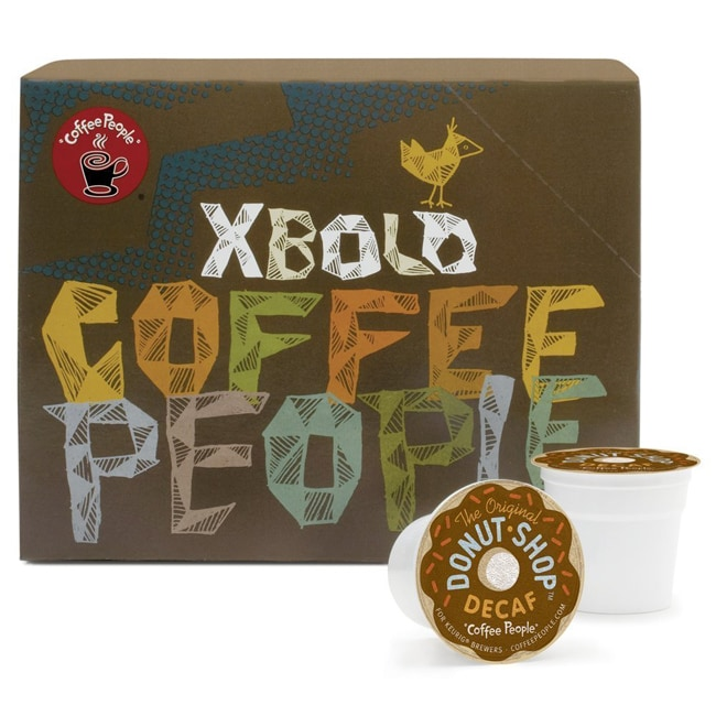 Coffee People Donut Shop Decaf Medium Roast 88 K-Cups for Keurig Brewers