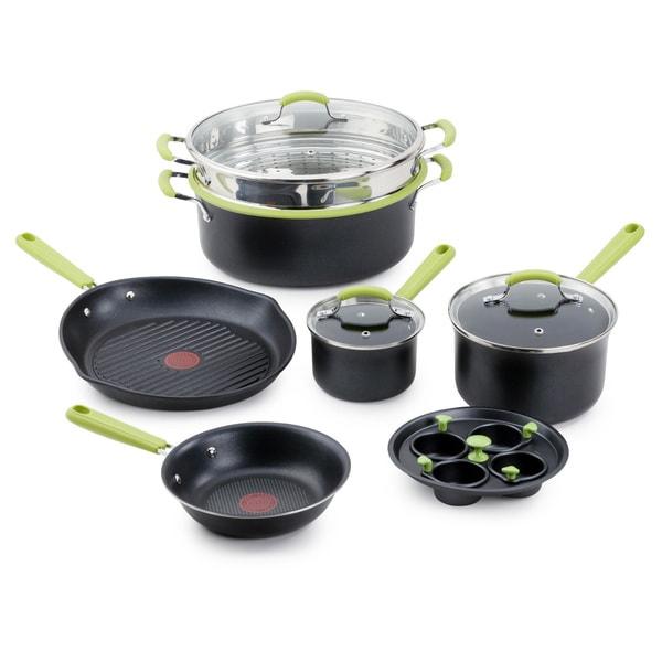T-Fal Balanced Living Nonstick 10 Piece Cookware Set