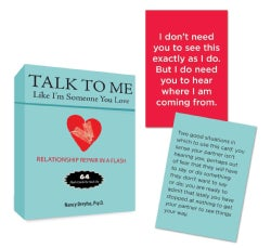 Talk to Me Like I'm Someone You Love: Flash Cards for Real Life (Cards)