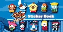 Street Fighter X Sanrio Sticker Book (Paperback)