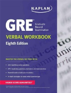 Kaplan GRE Verbal (Paperback)