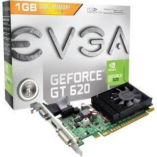 EVGA GeForce GT 620 Graphic Card - 700 MHz Core - 1 GB GDDR3 SDRAM -