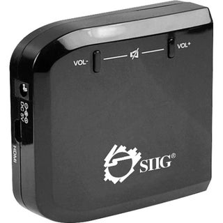 SIIG Micro HDMI to VGA with Audio Adapter