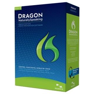 Nuance Dragon NaturallySpeaking v.12.0 Premium Edition - Complete Pro