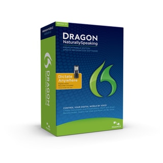 Dragon NaturallySpeaking 12 Premium w/Digital Recorder