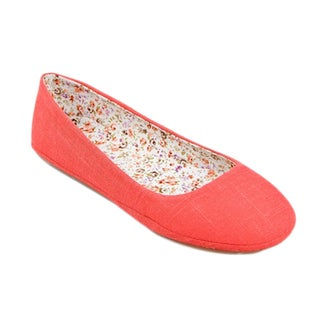 I-Comfort Women's Fabric Dream Comfort Flat