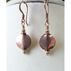 'Constance' Copper Earrings