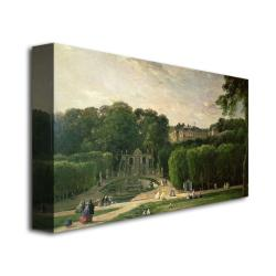 Charles Daubigny 'The Park at St.Cloud, 1865' Canvas Art