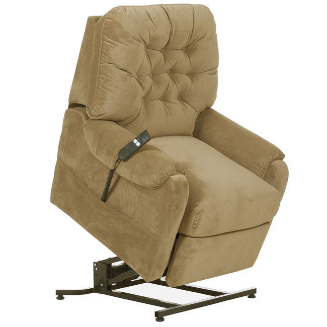 Apex Tan Fabric Power Lift Chair Recliner 14381714 Shopping