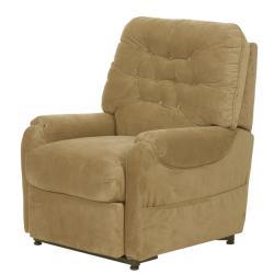 Apex Tan Fabric Power Lift Chair/Recliner