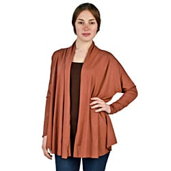 AtoZ Women's Russet Drop Shoulder Cardigan