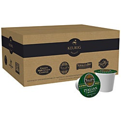 Tully's Italian Dark Roast Coffee K-Cups for Keurig Brewers 96 K-Cups
