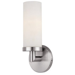 Access 'Aqueous' Brushed Steel One-light Pendant