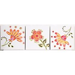 Cotton Tale Gypsy 3-piece Wall Art