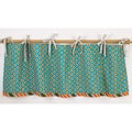 Cotton Tale Gypsy Curtain Valance - Turquoise