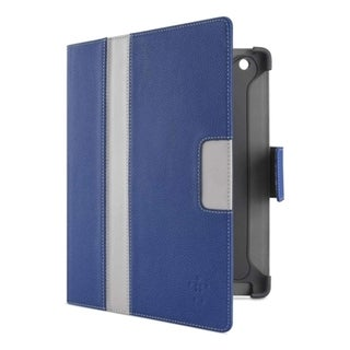 Belkin Cinema Stripe Cover Case (Folio) for iPad - Indigo, Gravel, Ov