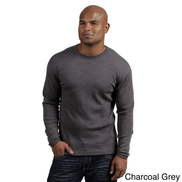 Minus33 Men's 'Chocorua' Merino Wool Mid-weight Base Layer Crew Neck Top 9303897