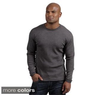 Minus33 Men's 'Chocorua' Merino Wool Mid-weight Base Layer Crew Neck Top