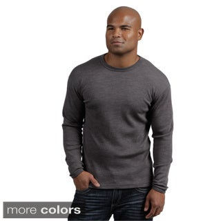 Minus33 Men&#39;s &#39;Chocorua&#39; Merino Wool Mid-weight Base Layer Crew Neck Top